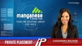 Manganese X Energy (TSXV:MN) has announced a non-brokered private placement