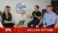 Race car driver Kellen Ritter is interviewed by Fiona Forbes of InvestmentPitch Media