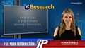 """eResearch Issues Industry Report """"Invest Like a Billionaire Mining Financier"""""""