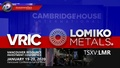 VRIC Invite from Lomiko Metals (TSXV: LMR) Booth #1030 January 19-20, 2020 ~Vancouver, B.C.~