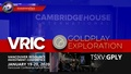 VRIC Invite from Goldplay Exploration (TSXV: GPLY) Booth #839 January 19-20, 2020 ~Vancouver, B.C.~