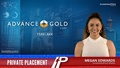 Advance Gold (TSXV:AAX) has announced a non-brokered private placement
