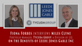 Fiona Forbes of InvestmentPitch Media interviews Miles Clyne on the benefits of Leede Jones Gable