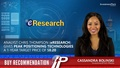 Analyst Chris Thompson (eResearch) give Peak Positioning Technologies a 1-Year Target price of $0.20