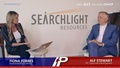 Alf Stewart of Searchlight Resources is interviewed by InvestmentPitch Media's Fiona Forbes