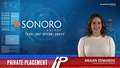 Private Placement: Sonoro Energy (TSXV:SNV)