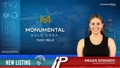 New Listing: Monumental Gold Corp (TSXV:MGLD)