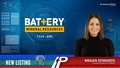 New Listing: Battery Mineral Resources (TSXV:BMR)