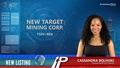 New Listing: New Target Mining Corp. (TSXV:NEW)