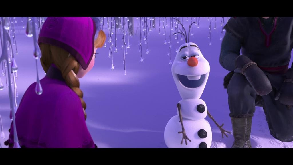 la reine des neiges extrait rencontre avec olaf