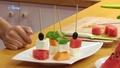 Pyszne szaszłyki z owosów i sera feta