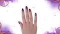 Nail art ispirato a Malefica