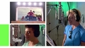 Teen Beach 2 - Visite des studios d'enregistrement avec le casting