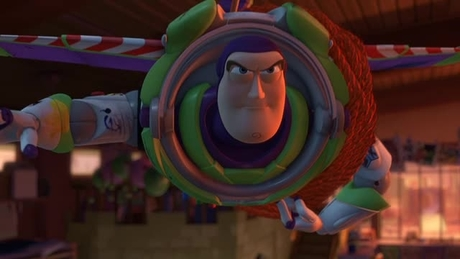 Toy Story 3 - Buzz Flies