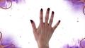Nail art ispirato alla regina cattiva