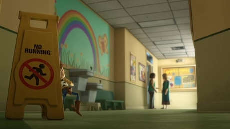 Toy Story 3 - Escapar pela casa-de-banho