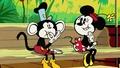 Miki w szortach - Małpka Miki