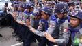 Myanmar Students, Police Scuffle During Protest Over Military's Political Role