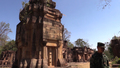 Cambodian Temple Seeking Tourists