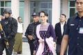 Myanmar's Suu Kyi Visits Conflict-Torn Rakhine State