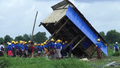 Myanmar Authorities Demolish Shantytown