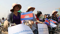 Phnom Penh Police Block Women's Rights Protest