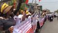Myanmar Nationalists Stage Anti-Rohingya Protest