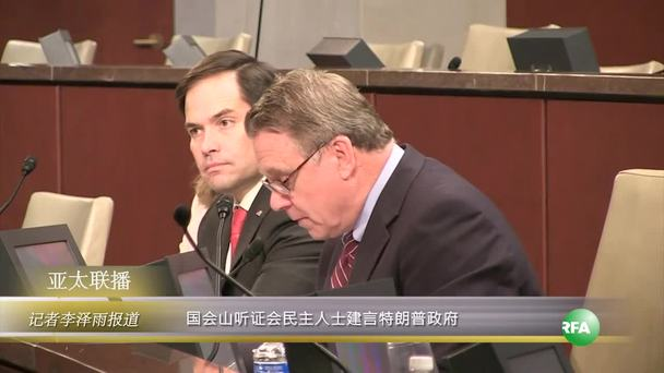 Video thumbnail for 国会山听证会民主人士建言特朗普政府