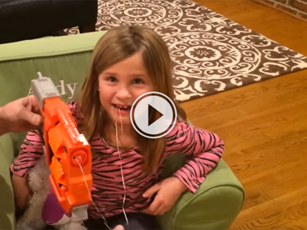 Video thumbnail for Nerf guns should be the only way to extract teeth