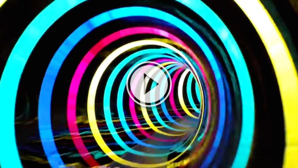 bad 1 bremerhaven black hole colorful led water slide