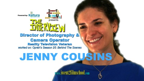 How To Be A Director of Photography w/ Jenny Cousins