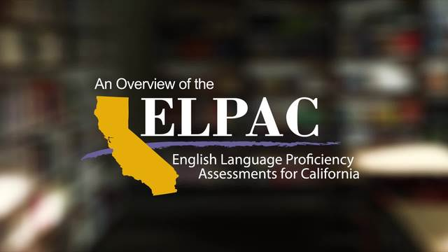 Video thumbnail for ELPAC_overview_ENGLISH