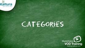 Vignette pour l'entrée Catégories MediaSpace