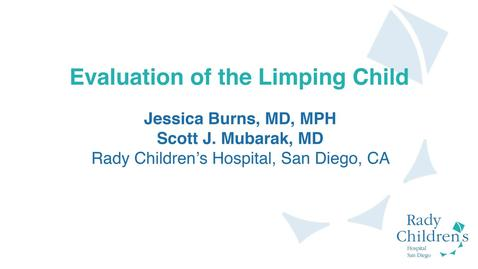 Thumbnail for entry Evaluation of the Limping Child