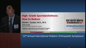 Thumbnail for entry High-Grade Spondylolisthesis: How to Reduce