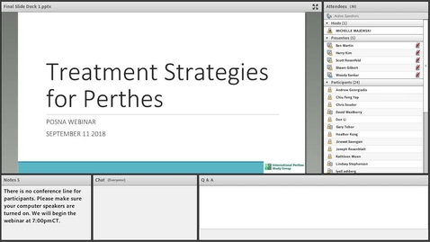 Thumbnail for entry Treatment Strategies for Perthes