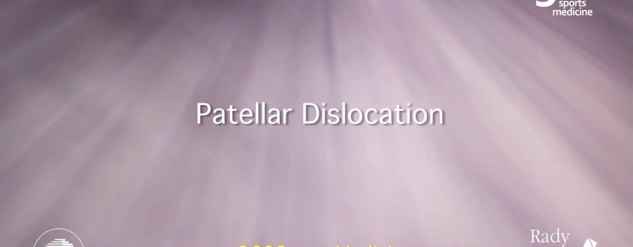 Patellar Dislocation