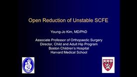 Thumbnail for entry Open Reduction of Unstable SCFE