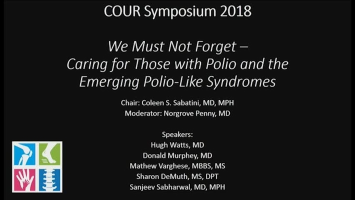 Polio: We Must Not Forget