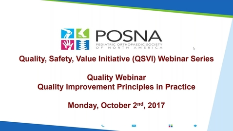 Thumbnail for entry QSVI Webinar: Quality Improvement Principles in Practice