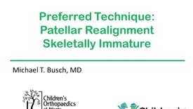 Thumbnail for entry Patellar Realignment in the Skeletal Immature Patient
