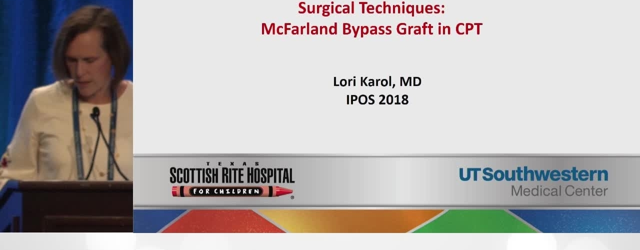 McFarland Bypass Grafting for Tibial Pseudarthrosis