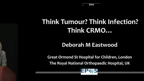 Thumbnail for entry Chronic Recurrent Multifocal Osteomyelitis: Think Tumor? Think Infection? Think CRMO