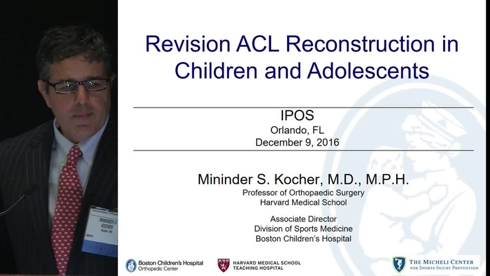 Revision ACL Reconstruction in Children and Adolescents