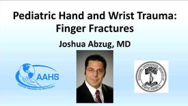 Thumbnail for entry Finger Fractures (Pediatric Hand and Wrist Trauma)