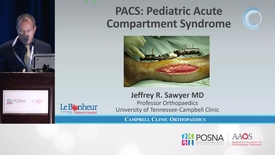 Thumbnail for entry Pediatric Acute Compartment Syndrome