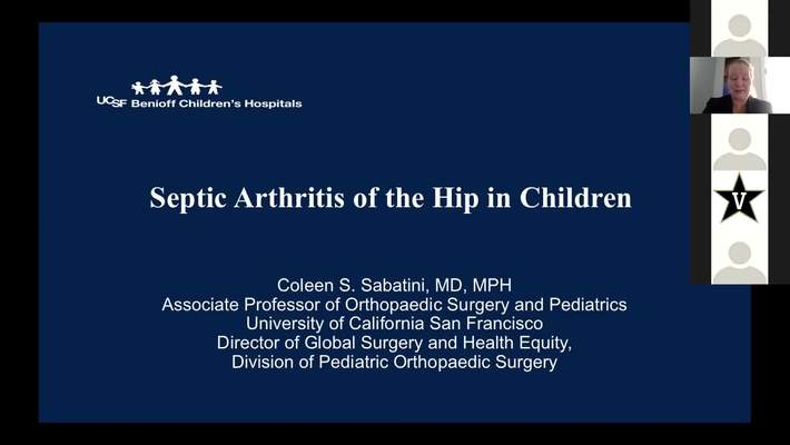 Septic Arthritis of the Hip in Children
