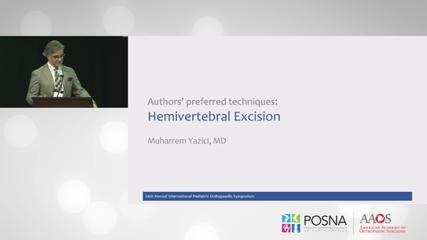 Thumbnail for entry Hemivertebral Excision