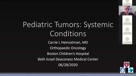 Thumbnail for entry Pediatric Tumors: Systemic Conditions