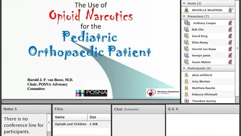 Thumbnail for entry Opioids and Children